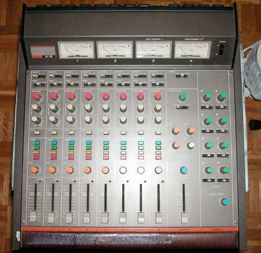 table de mixage tascam